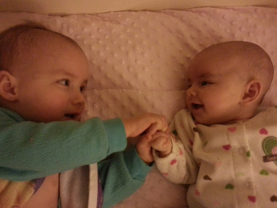 My arrows: Little Miss -2 and Baby Boo - 6months.