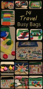 busy bag - travel banner